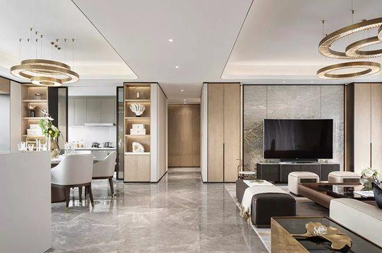 快来欣赏美宅!低成本装修240㎡大户型,给你奢华如明星般的家