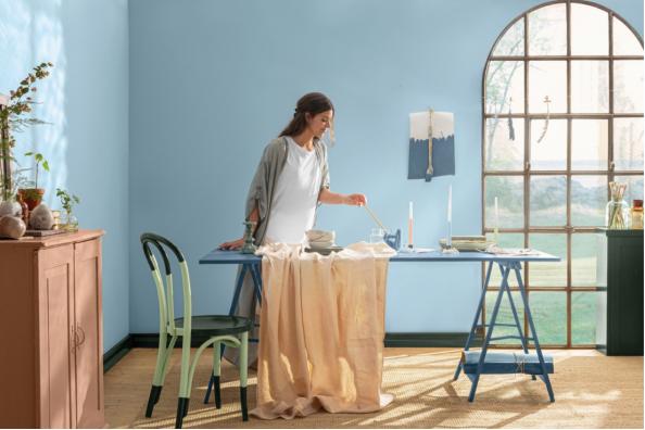 环保涂料漆哪种好,芬兰芬琳漆带来原汁原味北欧家居体验