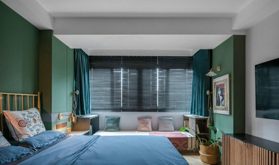 43㎡单身小公寓,小空间大设计,该有的功能都有,一个人生活也不将就!