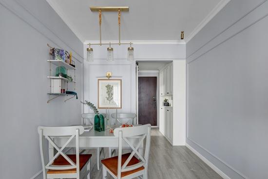 80㎡小两居再创新高,完美驾驭现代美式风,这样的家,你有没有心动?