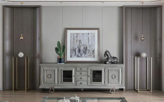 178㎡美式家居,客餐厅一体化设计,简约大气,轻奢雅致
