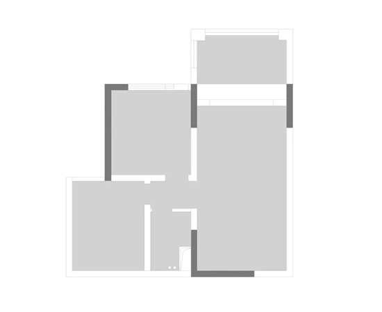 126㎡复式如何打造豪宅感?时尚的黑白灰也可以复古?这个混搭的美式风格给你答案 自律、影迷、80后,