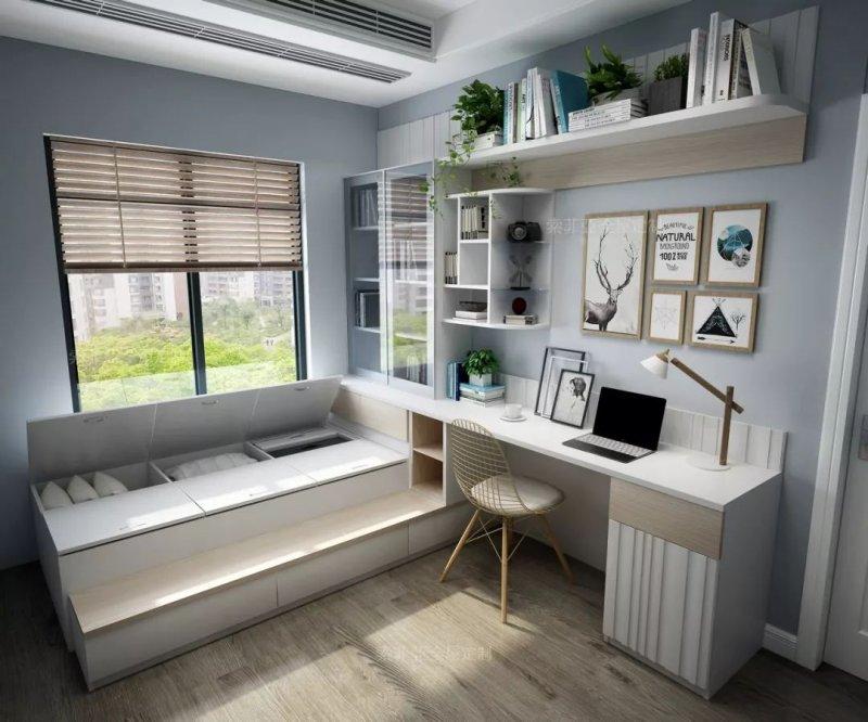 小卧室在装修时选择双层床好还是榻榻米好?